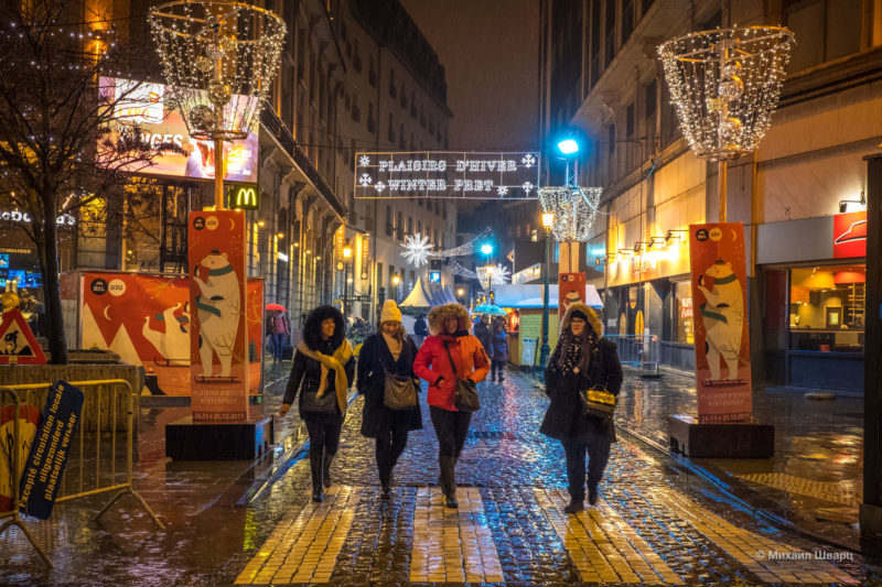 Прогулка по рождественскому Брюсселю 27