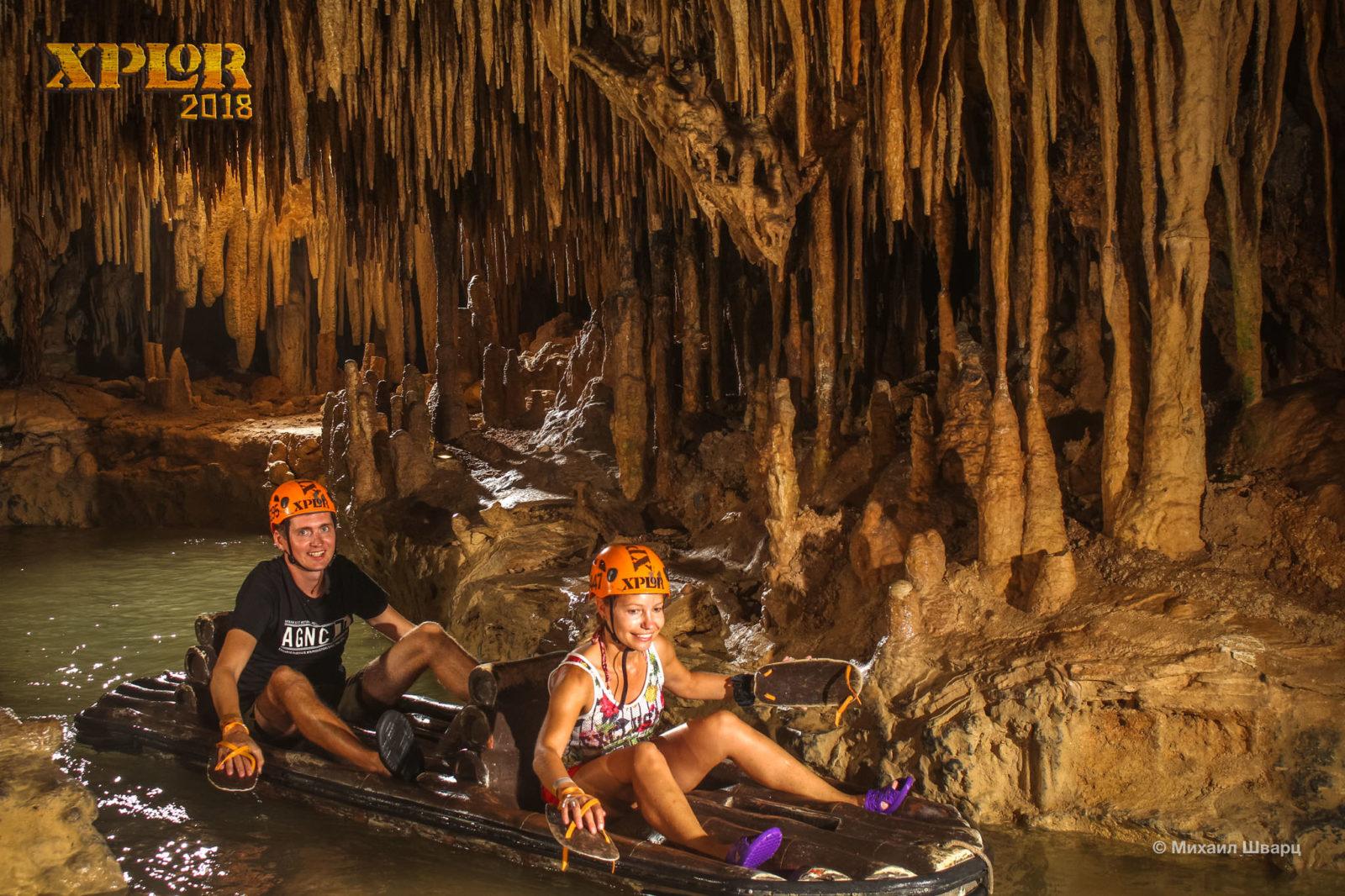 Плаваем по подземной реке