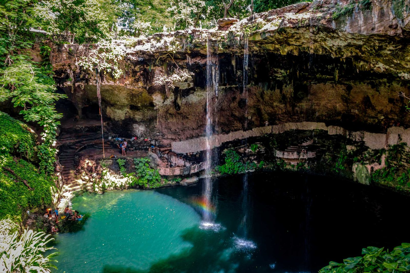 Сенот Саси (Cenote Zaci)