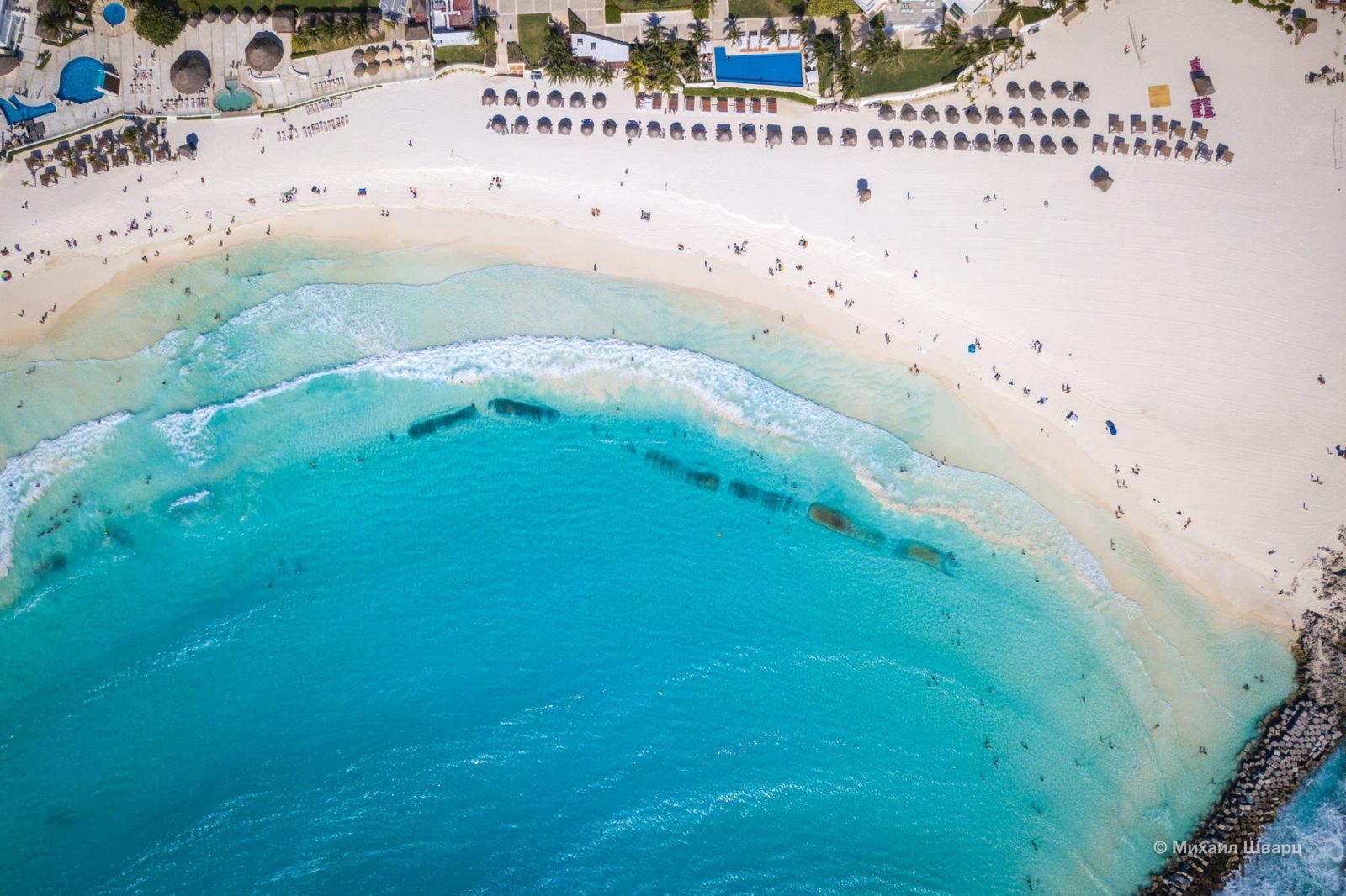 Playa Gaviotas сверху