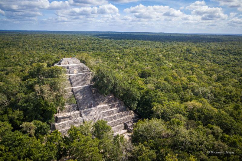 Calakmul в Мексике