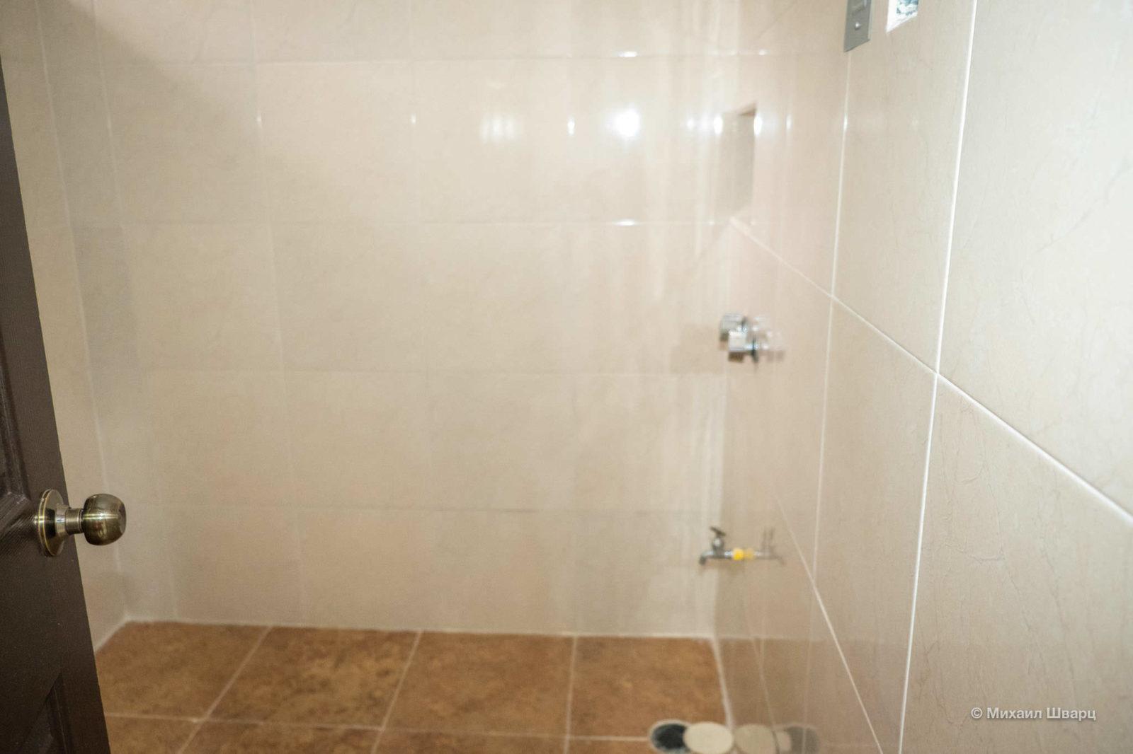 Странный душ