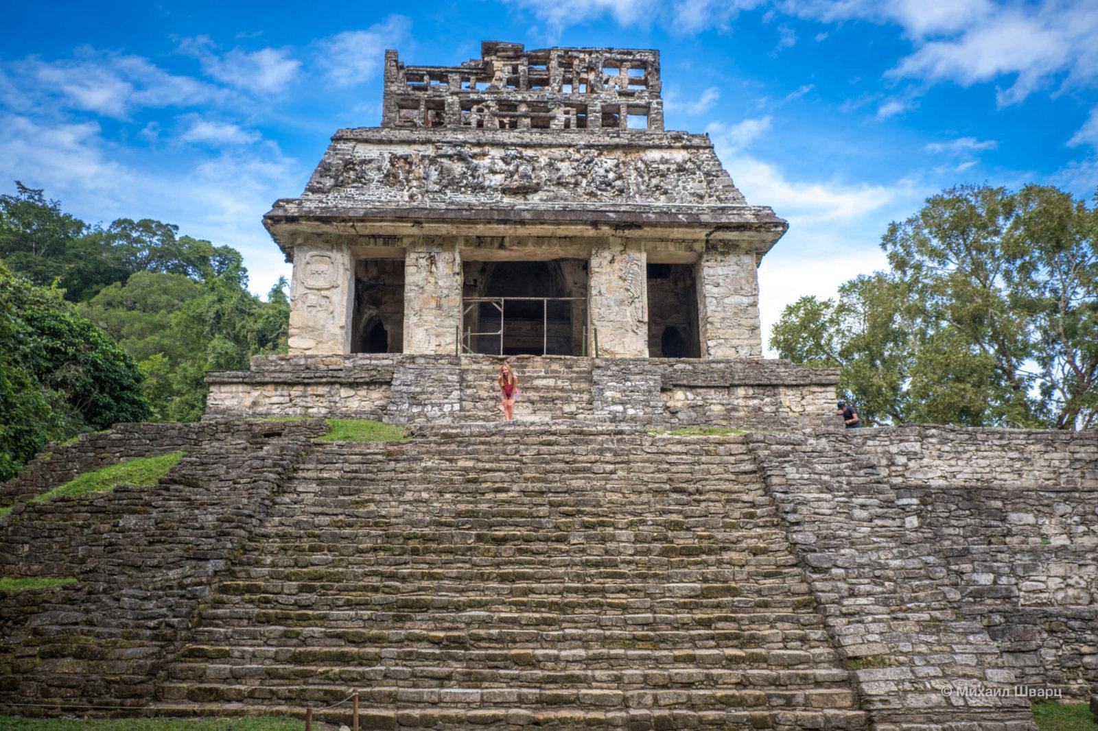 Лестница в храм солнца