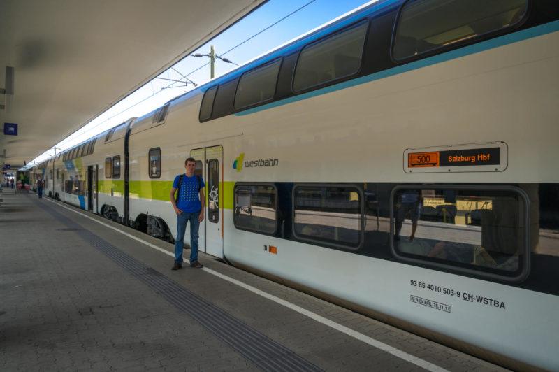 Как доехать из Вены в Зальцбург 1
