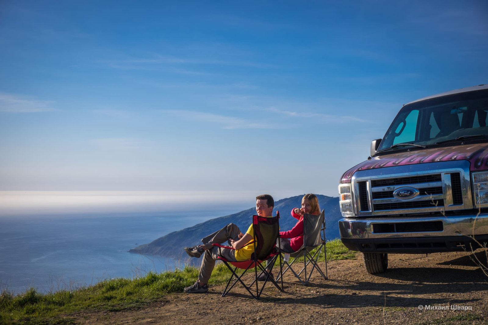 Alms Campground в Big Sur