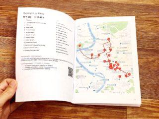 Как распечатать путеводитель книжечкой