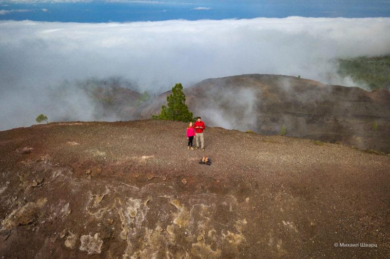 Маршрут по вулканам около Тейде 2