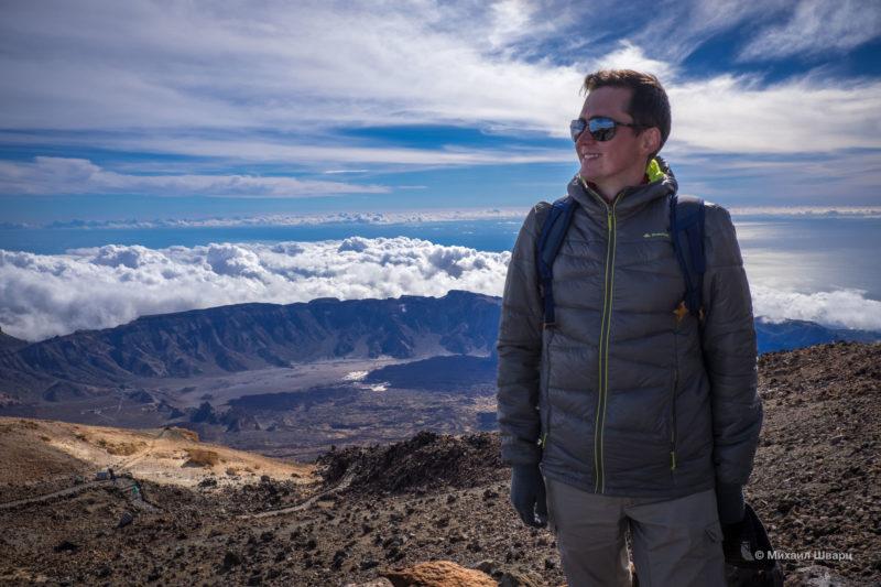 Как мы забрались на вулкан Тейде 2