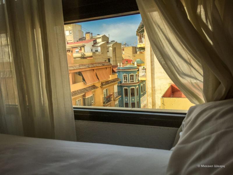 Вид с кровати
