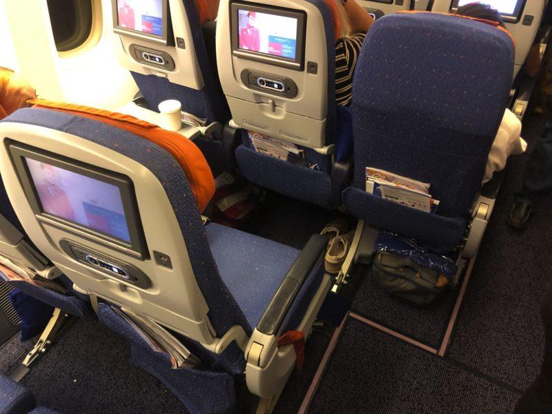 Царские места в самолете