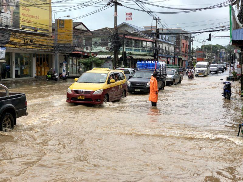 Последствия тайфуна Пабук на Самуи 2