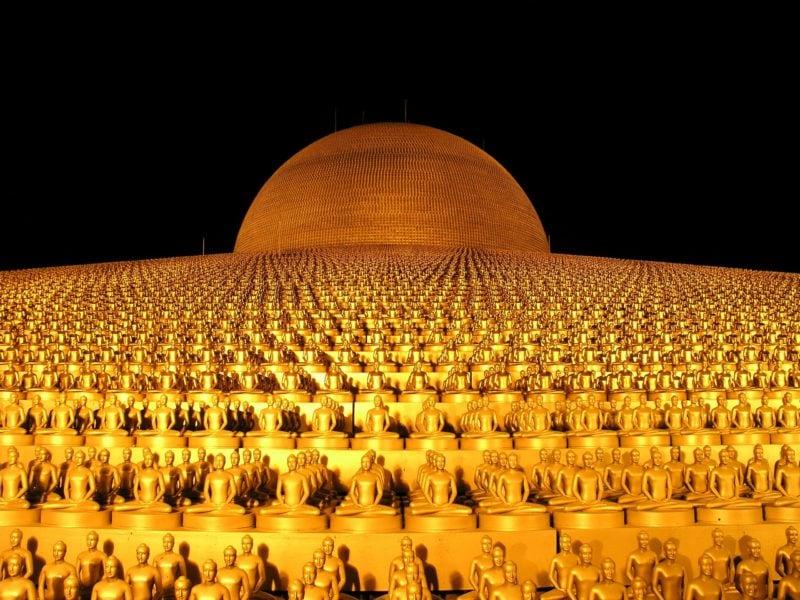 Как мы попали в буддийскую секту 1