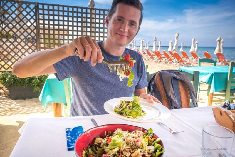 Греческие салатики