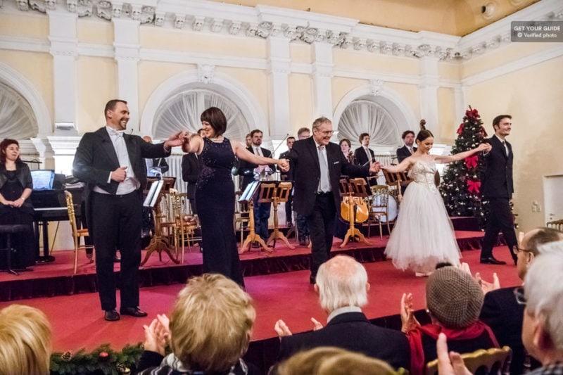Концерт Моцарта и Штрауса в венском Курсалоне