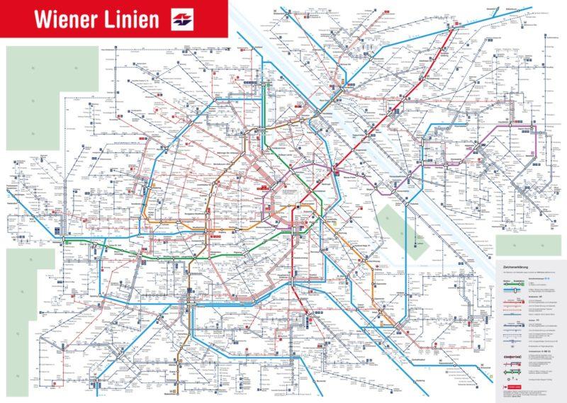 Билеты на общественный транспорт в Вене и их цены 2