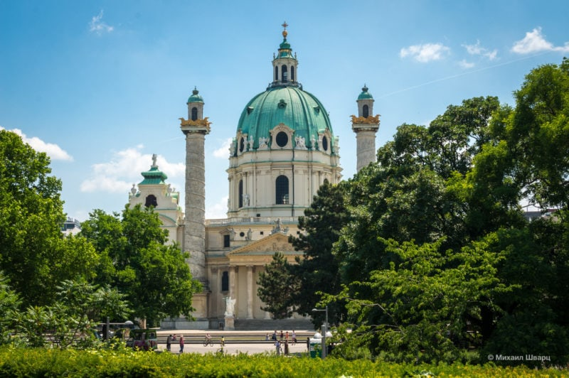 Карлскирхе (Karlskirche)