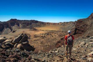Кратер вулкана Pico Viejo
