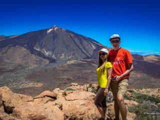 Маршрут на гору Guajara с видом на Тейде