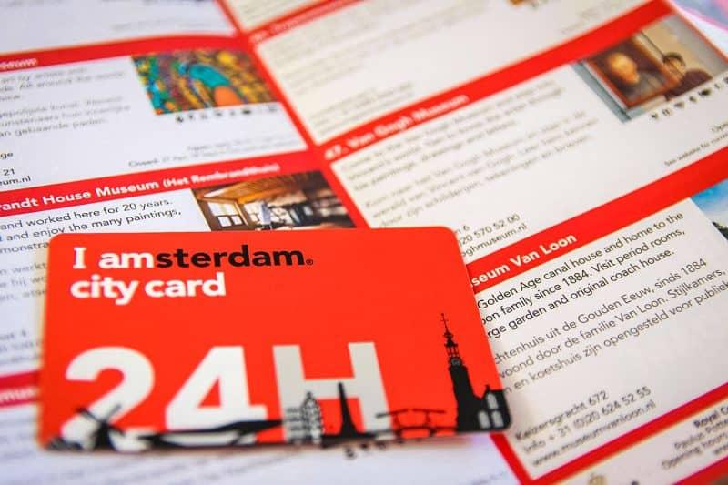 Городская карта I amsterdam City Card