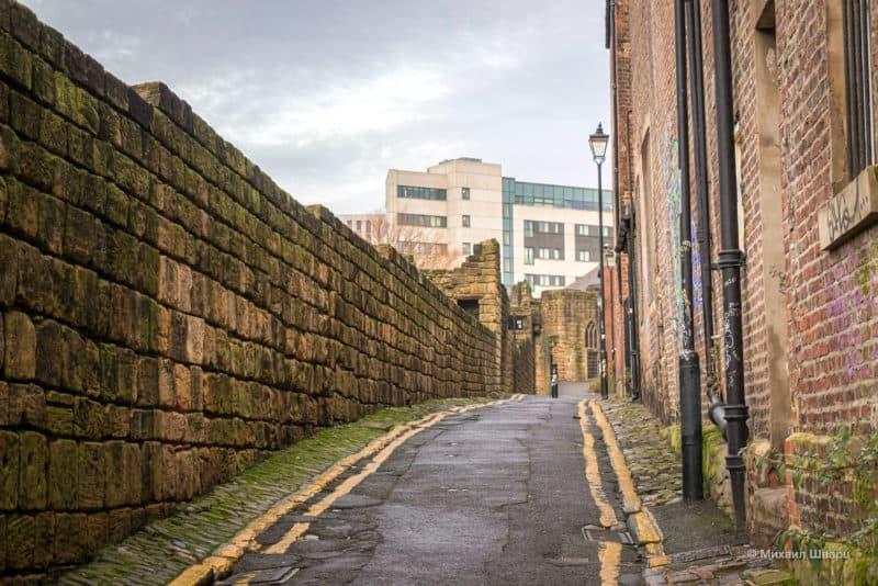 Крепостные стены Town Wall, Ньюкасл