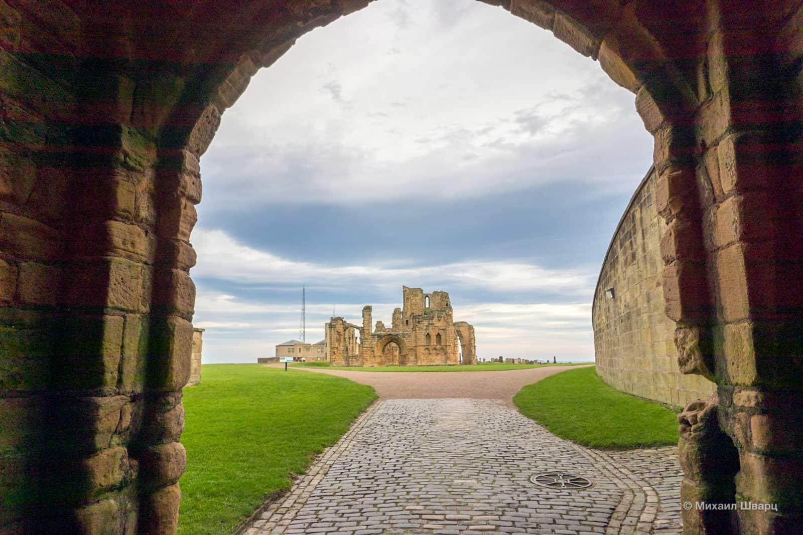 Руины зама Tynemouth