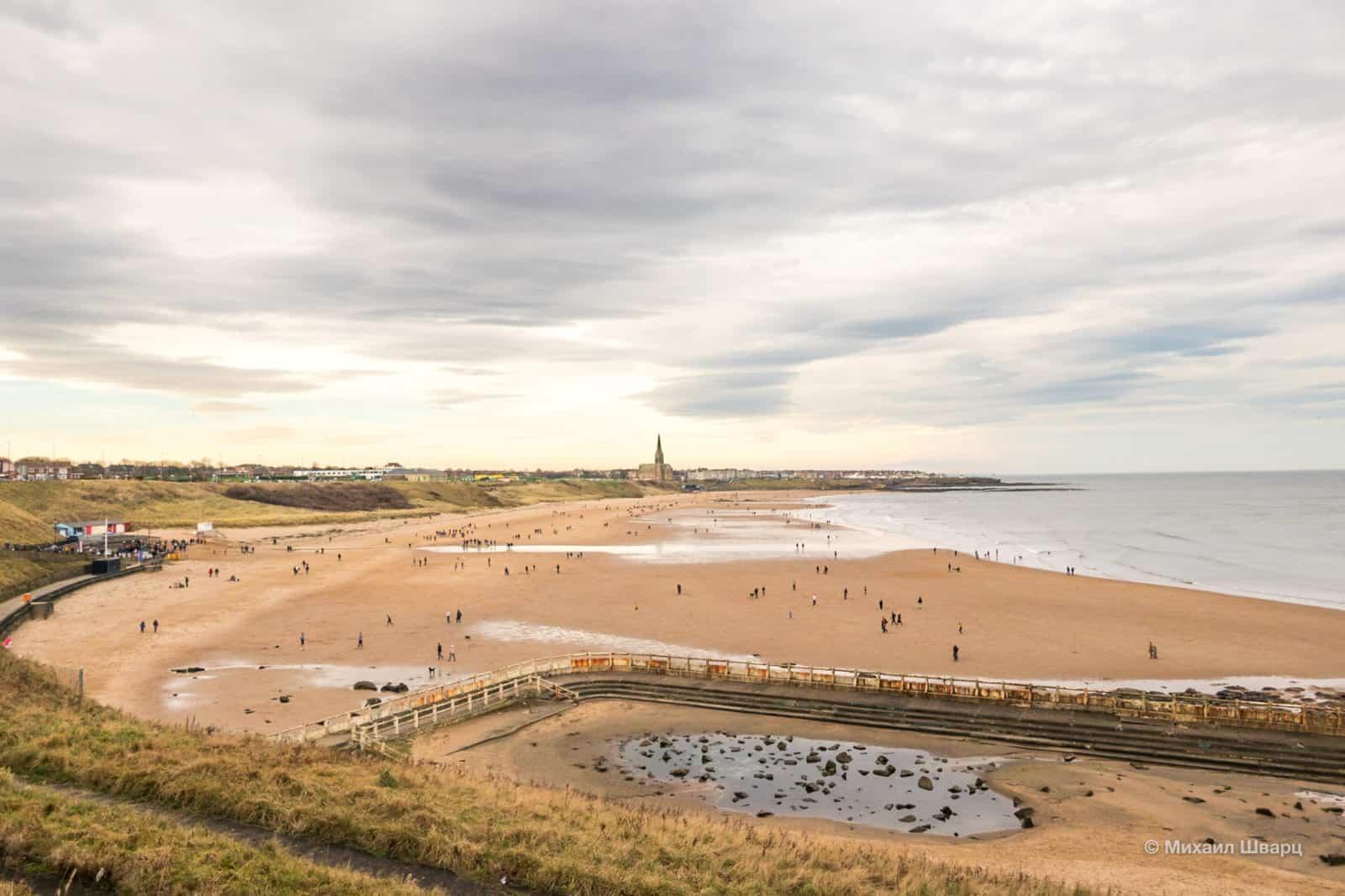 Пляж Тайнмут (Tynemouth Beach)