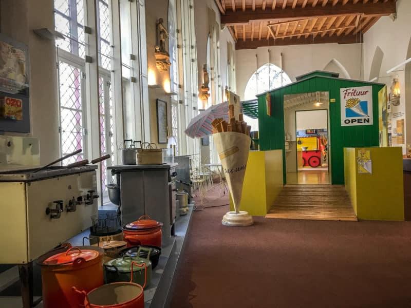 Музей картофеля фри (Frietmuseum)