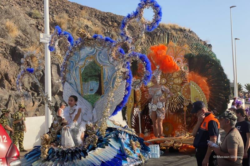 Карнавал в Пуэрто де Сантьяго