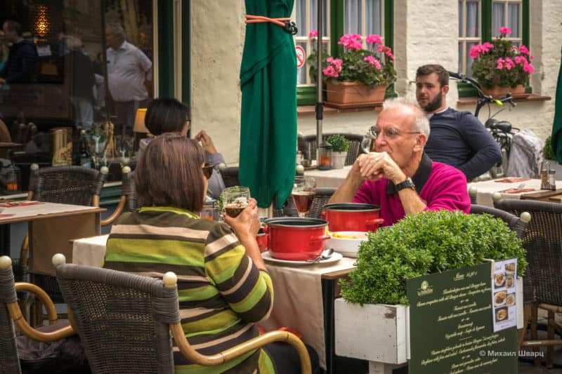 Где поесть в Брюгге?
