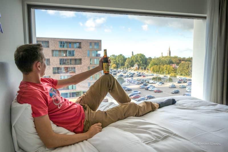 В каком районе Брюгге лучше выбрать отель?
