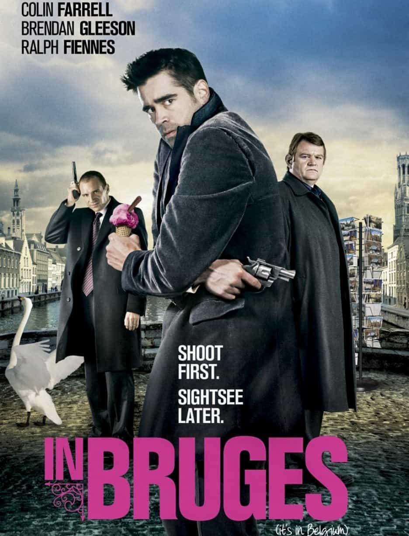 Где снимали фильм «Залечь на дно в Брюгге»?