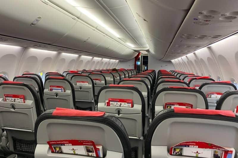 Пустой самолет