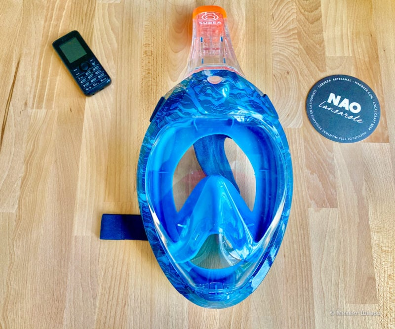 легендарную маску во всё лицо от Decathlon Easybreath 500