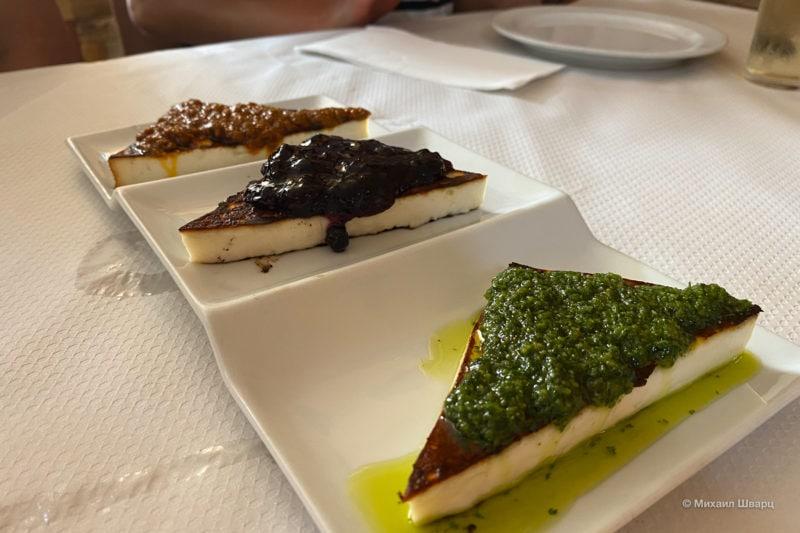 Вкуснейший жареный сыр – Queso asado