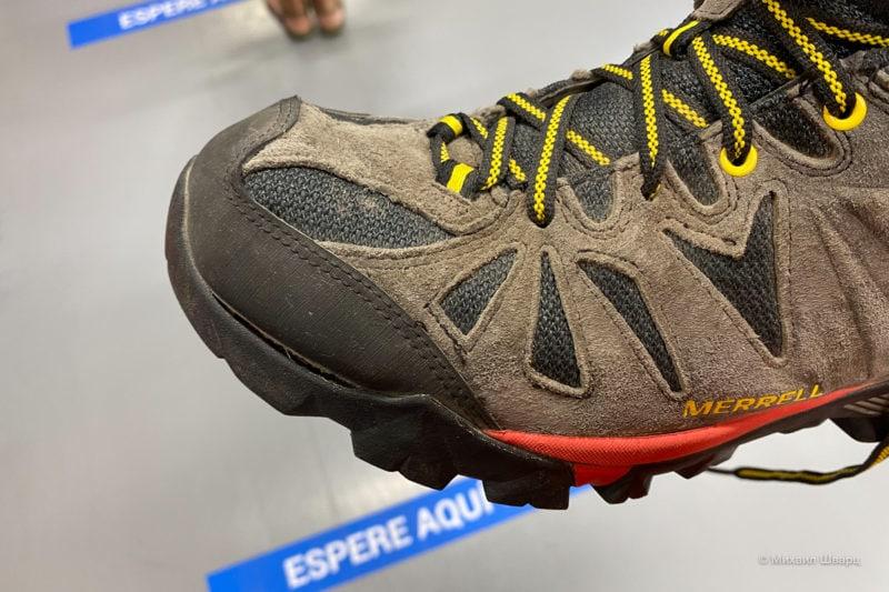 Порвализи ботинки Merrel