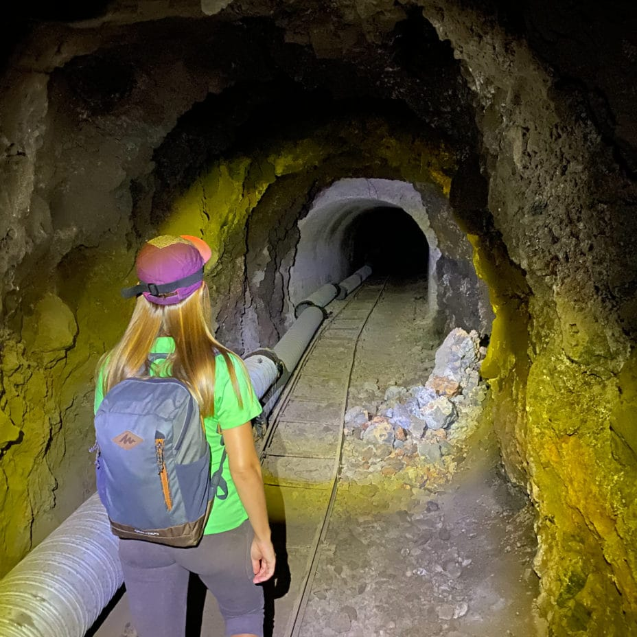 Маршрут через тоннель к пляжу Barranco Seco Тенерифе