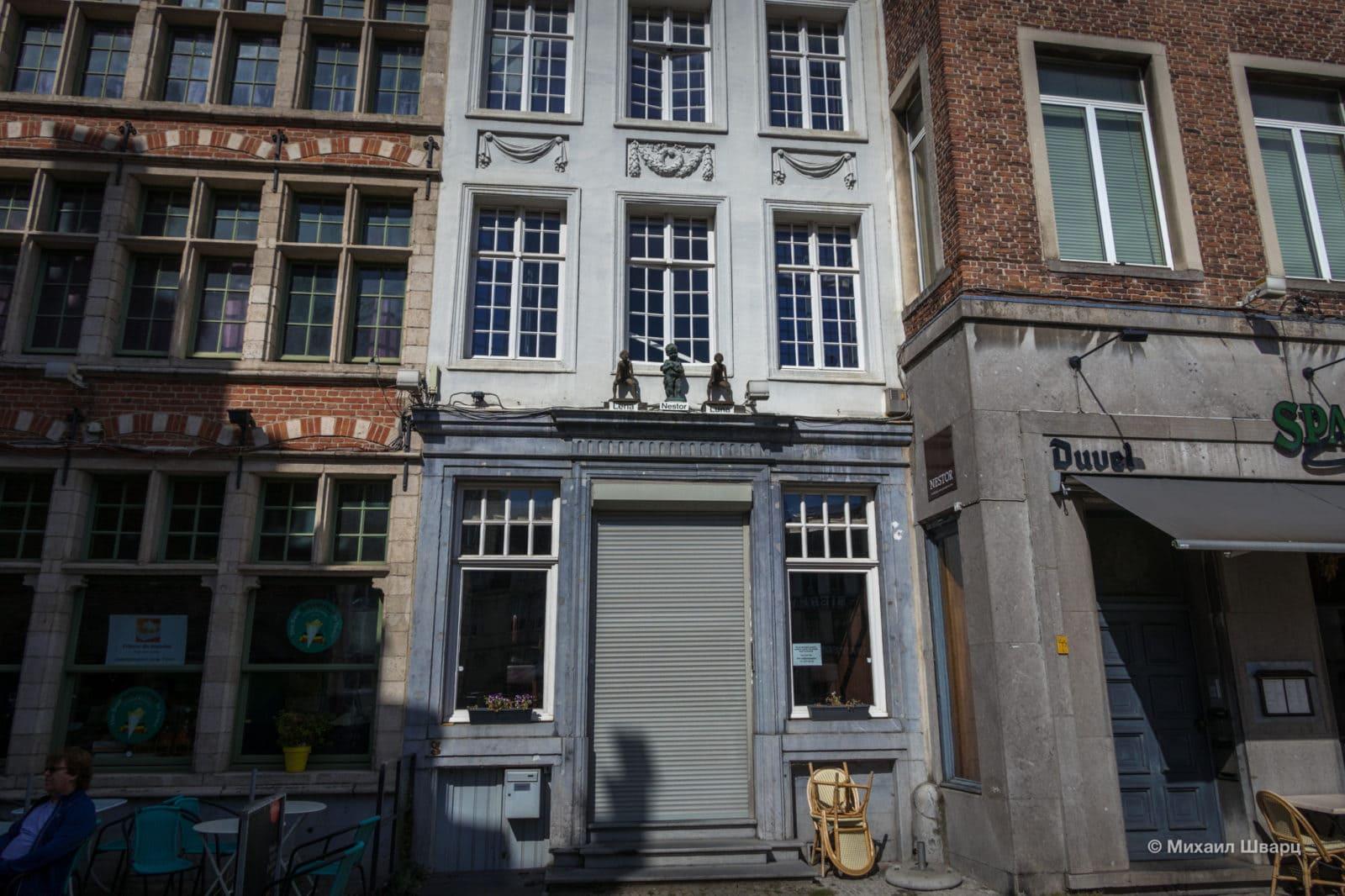 Фасад ресторана Нестор (restaurant Nestor)