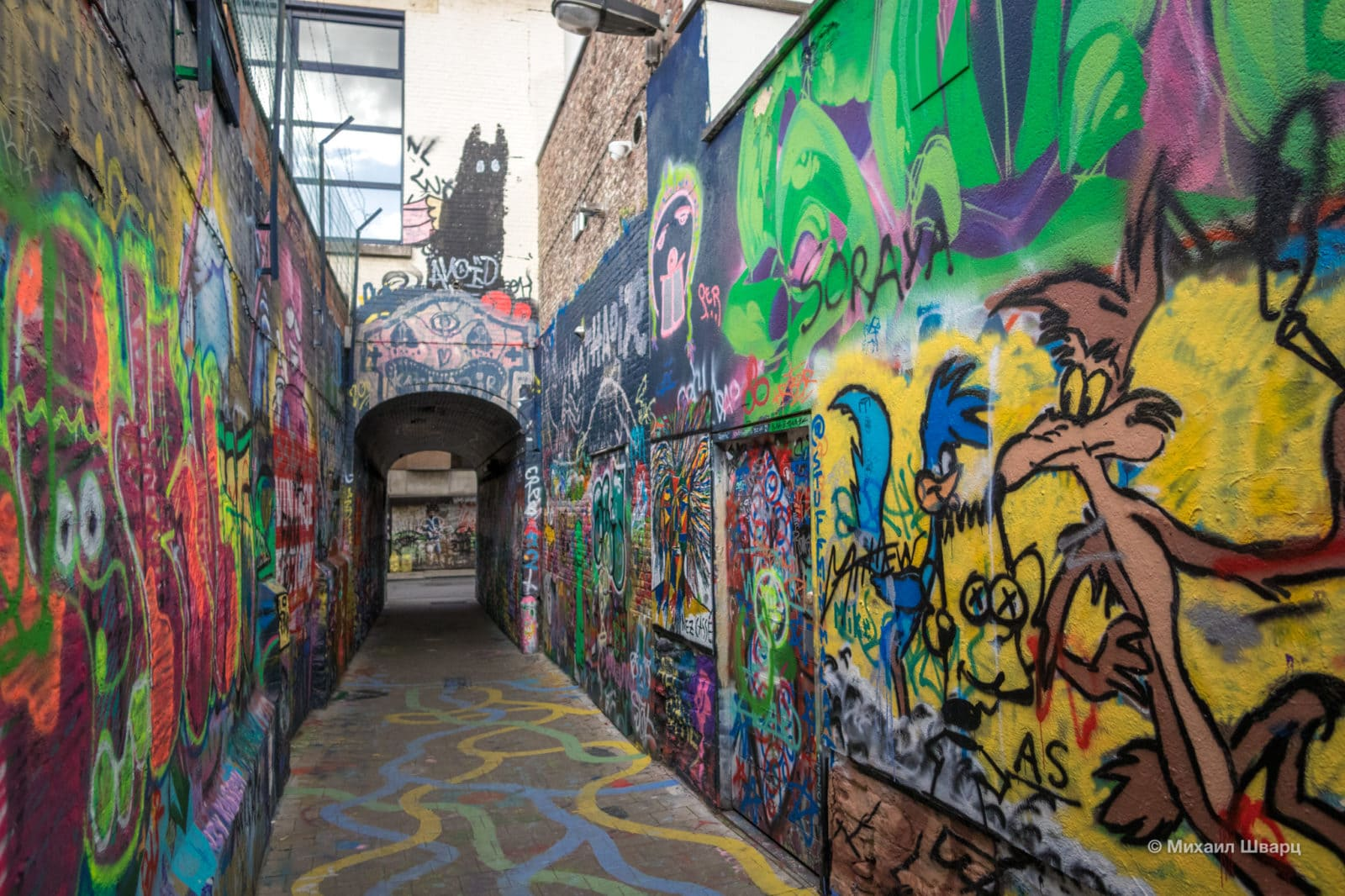 Открытая зона для граффити Graffiti Street