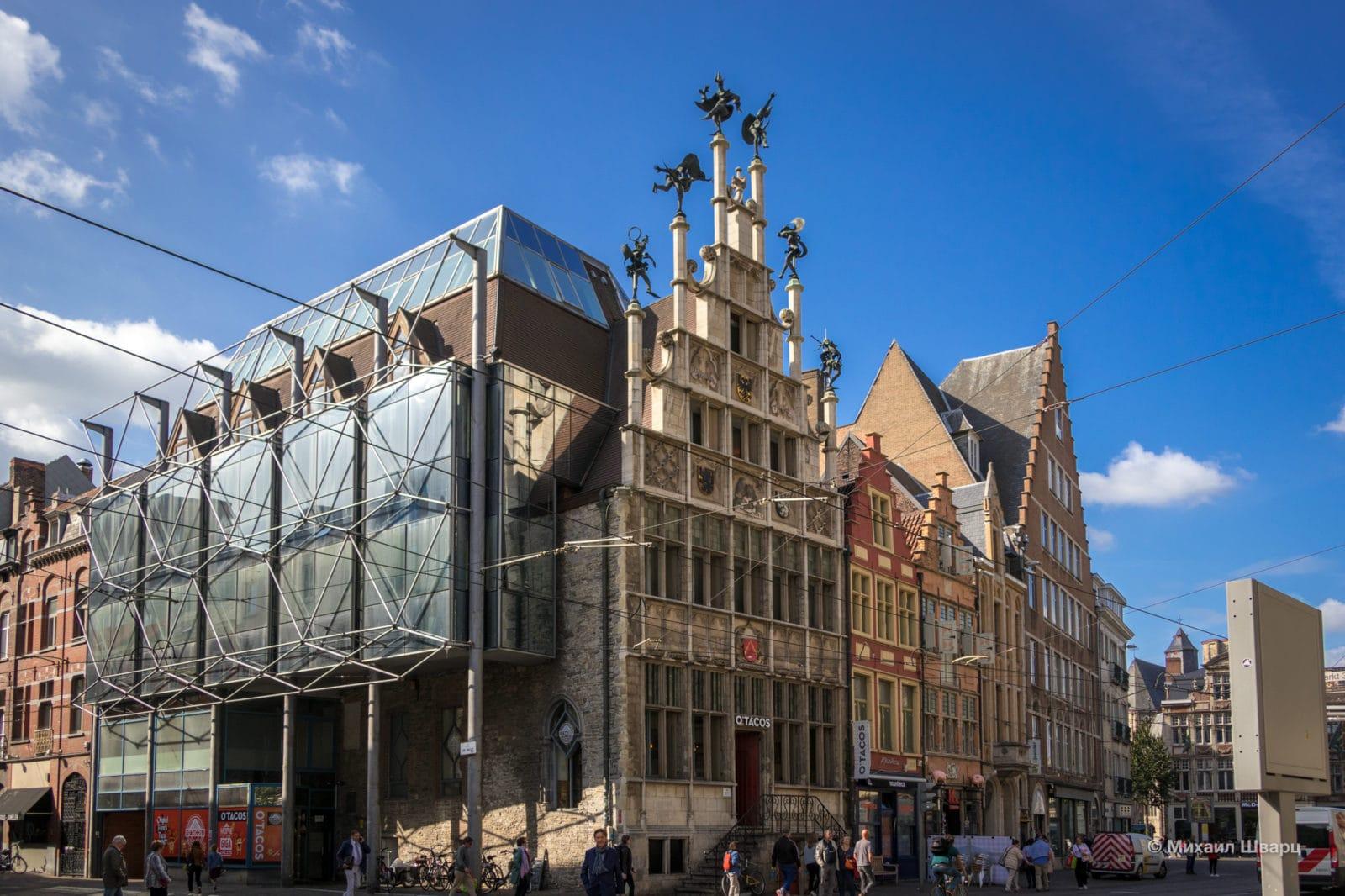 Дом Гильдии Каменщиков (Metselaarshuis)