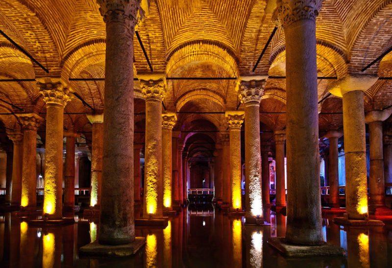 Цистерна Базилика (Yerebatan Sarayı)