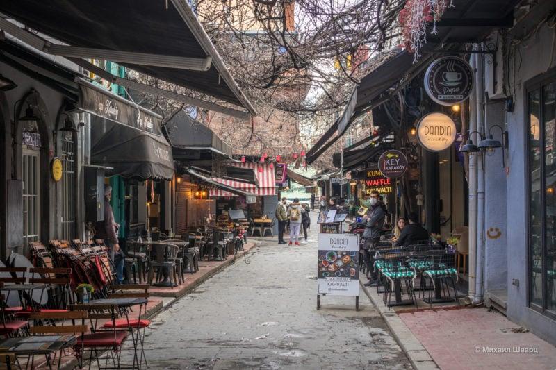 Уютные рестораны района Karaköy