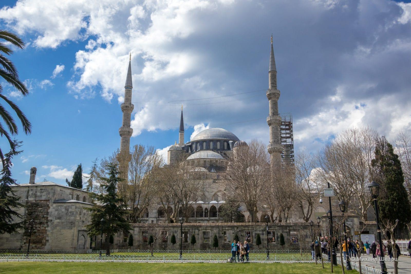 Мечеть Султанахмет (Sultanahmet Camii)