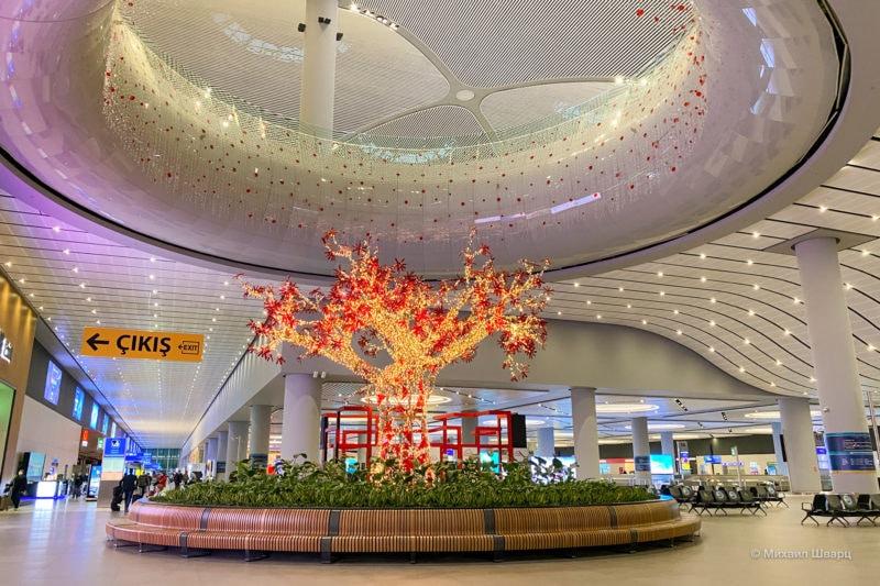 Новый красивый аэропорт в Стамбуле