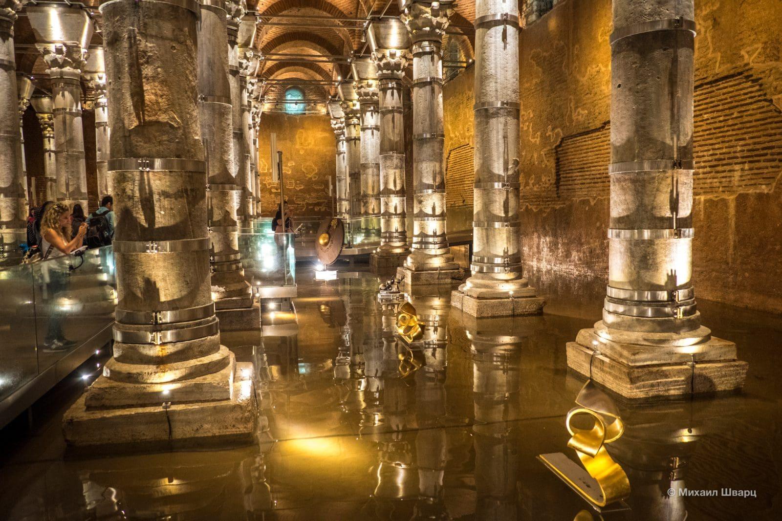 Древнее водохранилище Константинополя