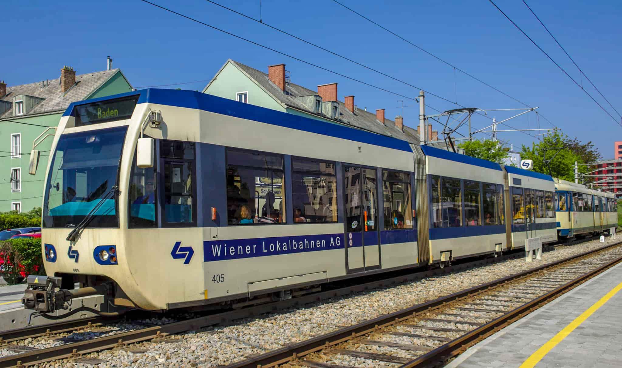 Как доехать из Вены в Баден?
