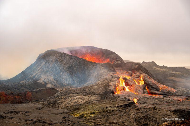 Фотогеничный вулкан