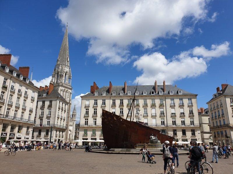 Арт-объект на фестивале «Путешествие в Нант» (Le Voyage à Nantes)